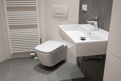 Badezimmer bei Heizung Pelzer